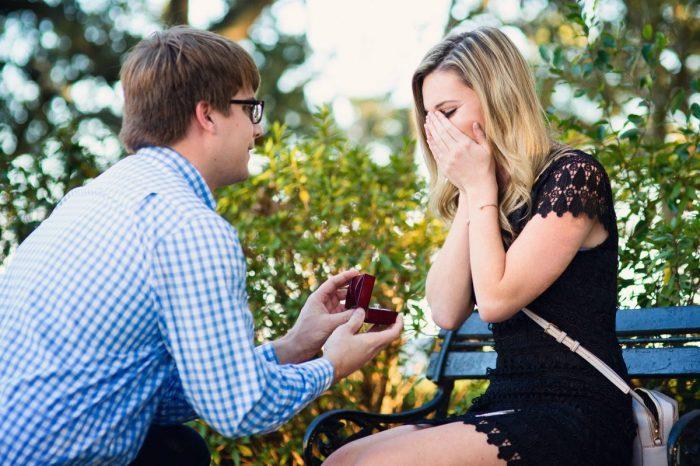 Tori and Austin's Engagement in Charleston, South Carolina