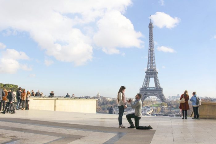 Wedding Proposal Ideas in Paris