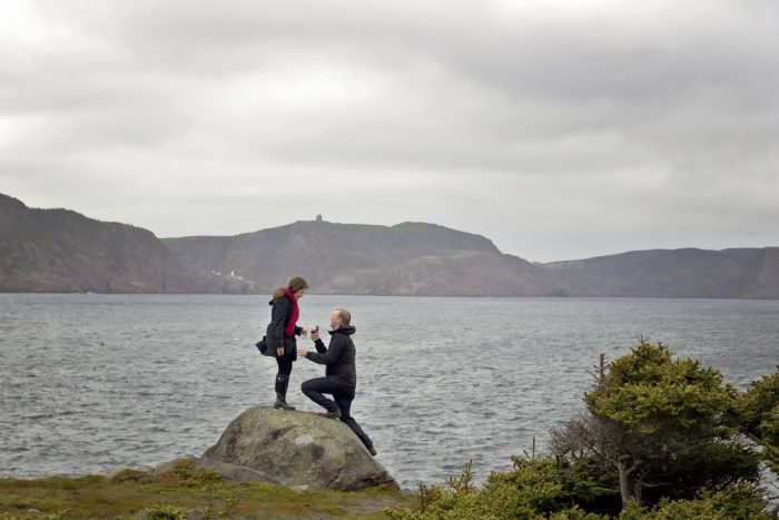 Wedding Proposal Ideas in Blackhead, Newfoundland, Canada