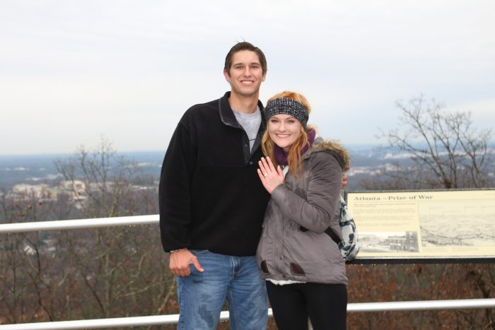 Marriage Proposal Ideas in Kennesaw Mountain