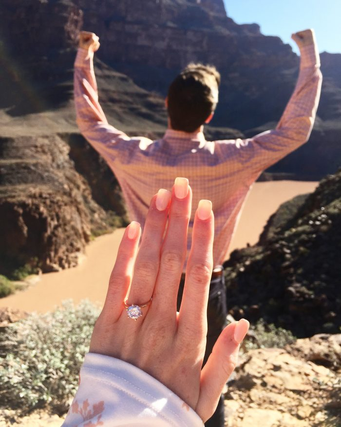 Aubrey and Logan's Engagement in Grand Canyon