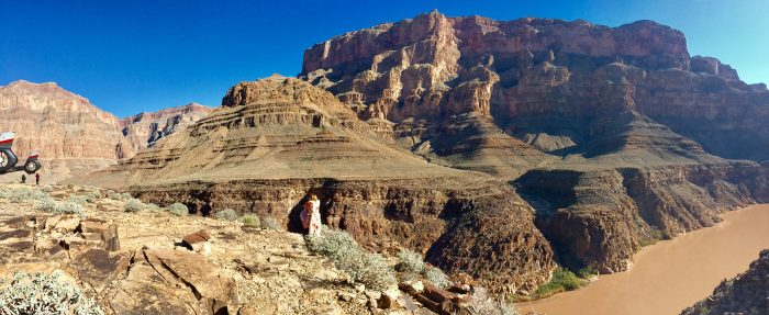 Aubrey's Proposal in Grand Canyon