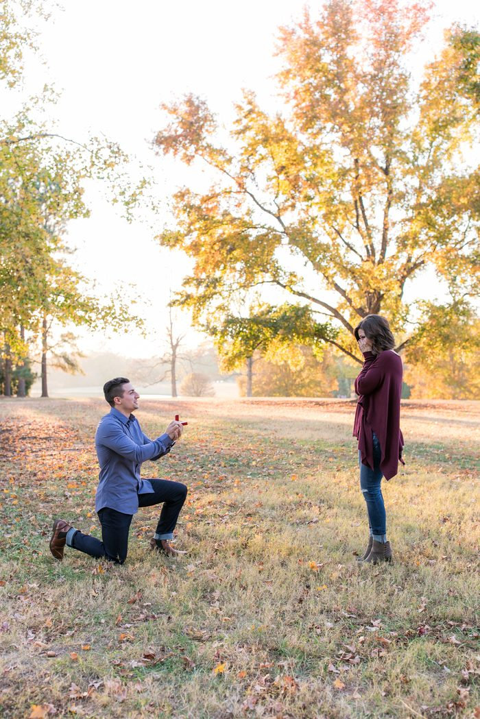 Kayla and Groom's Engagement in South Carolina