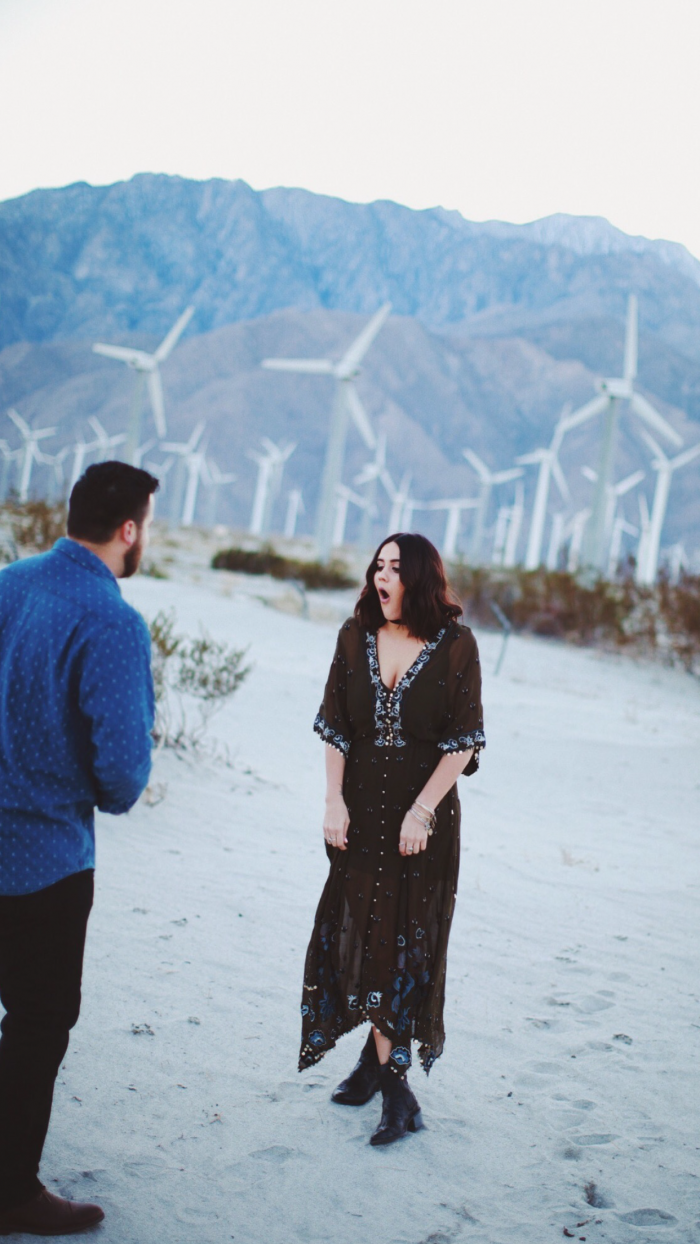 Marriage Proposal Ideas in Palm Springs, CA