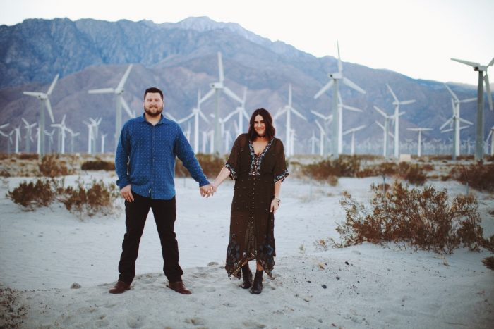 Kaylyn and Adam's Engagement in Palm Springs, CA