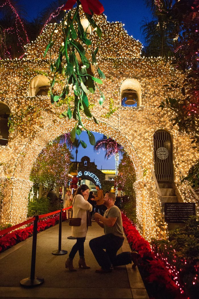 Jenna and Groom's Engagement in Mission Inn Hotel & Spa, California