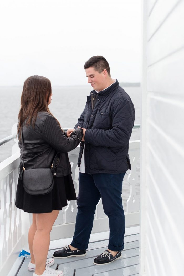 Where to Propose in Thomas Point Shoal Lighthouse