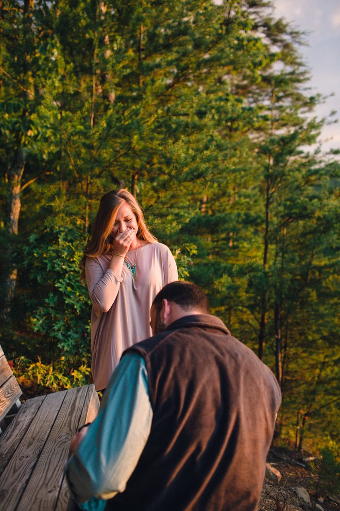 Proposal Ideas Butterfly Gap Retreat, Tennessee