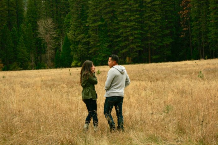 Marriage Proposal Ideas in Yosemite National Park