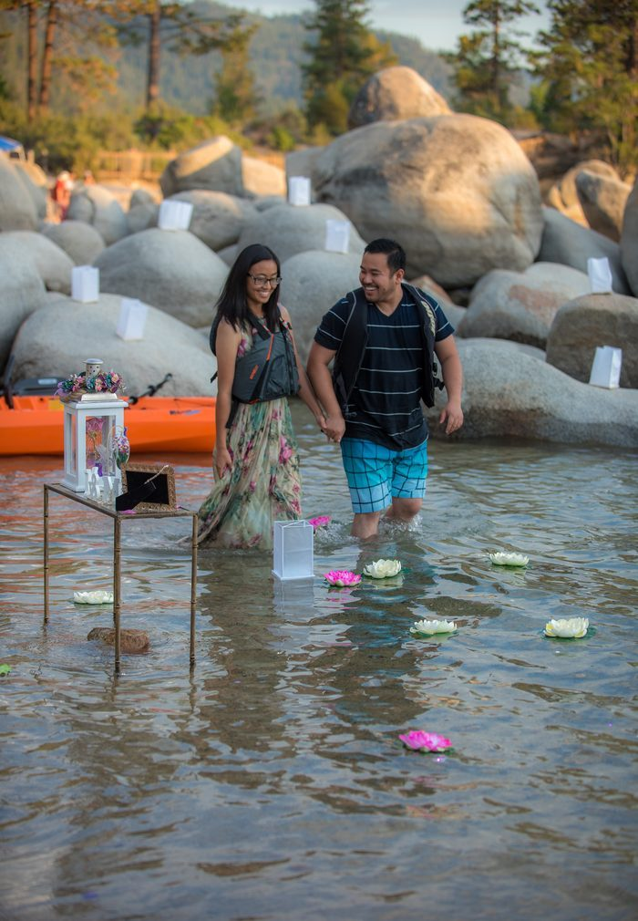 Wedding Proposal Ideas in Lake Tahoe