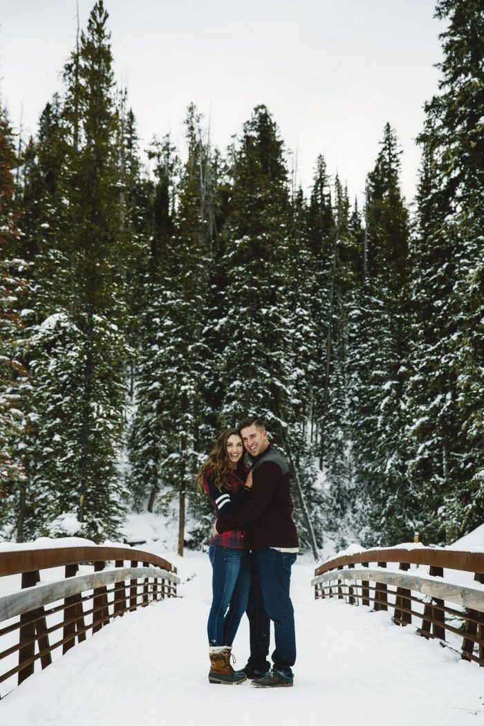 Michelle and Shane's Engagement in Big Sky, MT