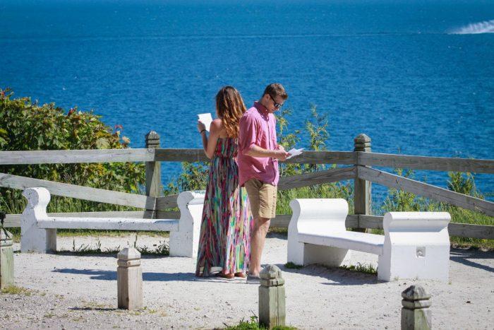 Rebecca's Proposal in Mackinac Island