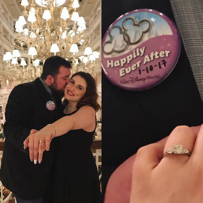 Kara and Tom's Engagement in Disney's Grand Floridan Resort- Narcoossee's Restaurant