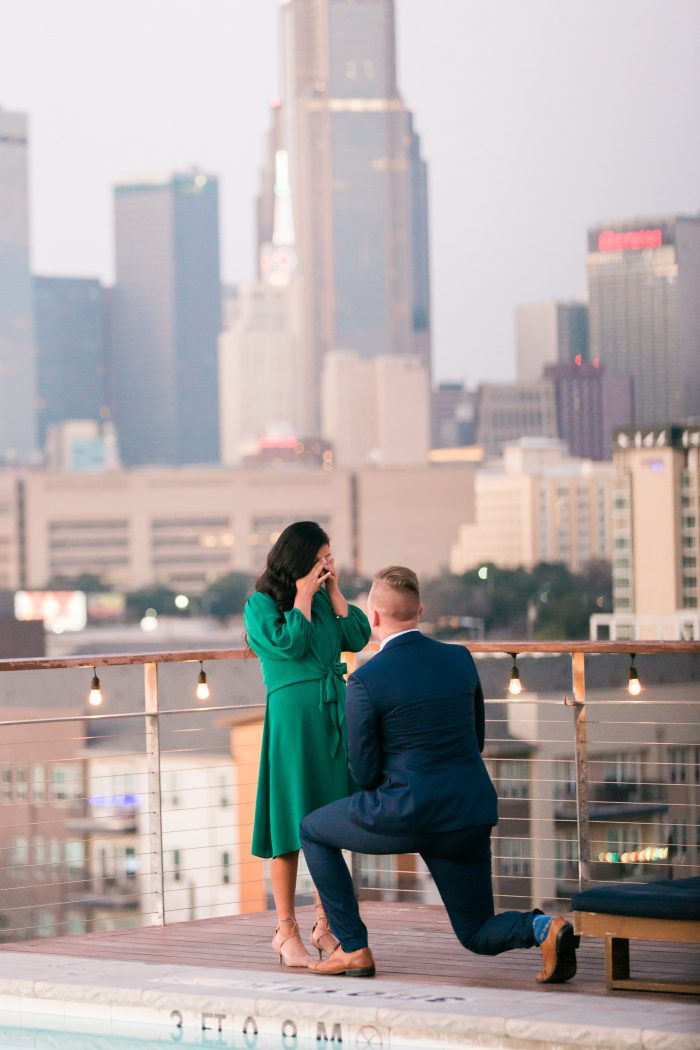 Marriage Proposal Ideas in NYLO Dallas South Side
