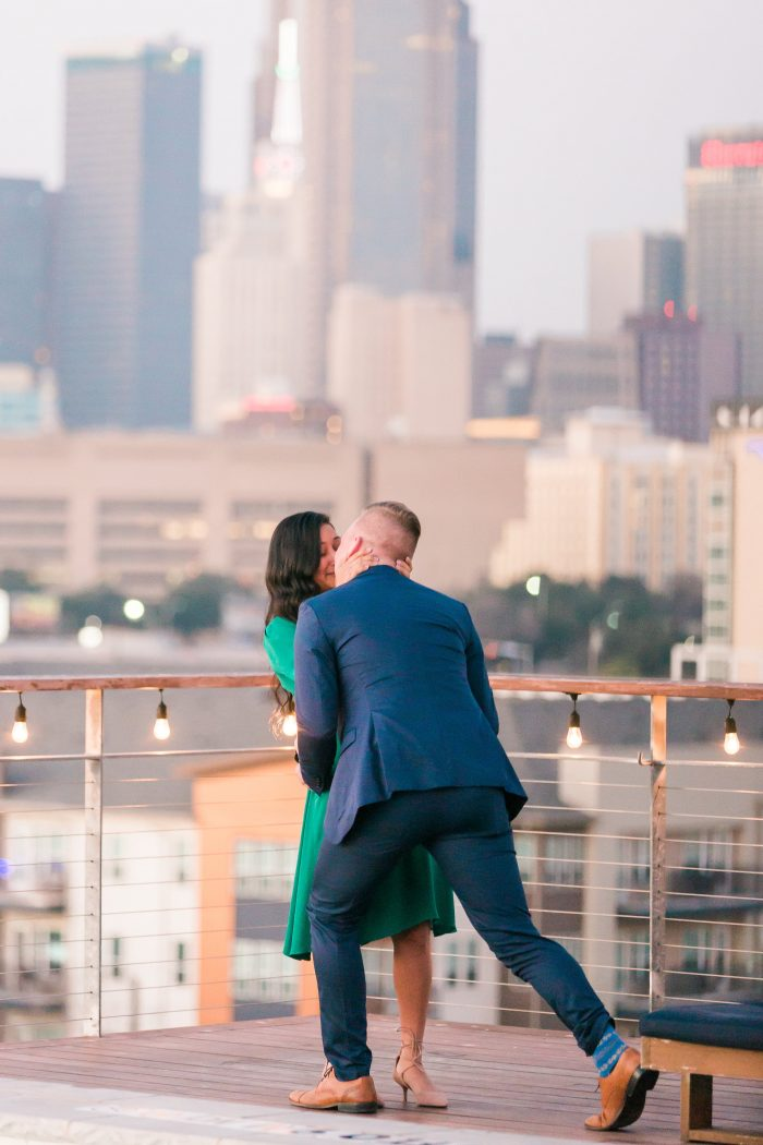 Wedding Proposal Ideas in NYLO Dallas South Side