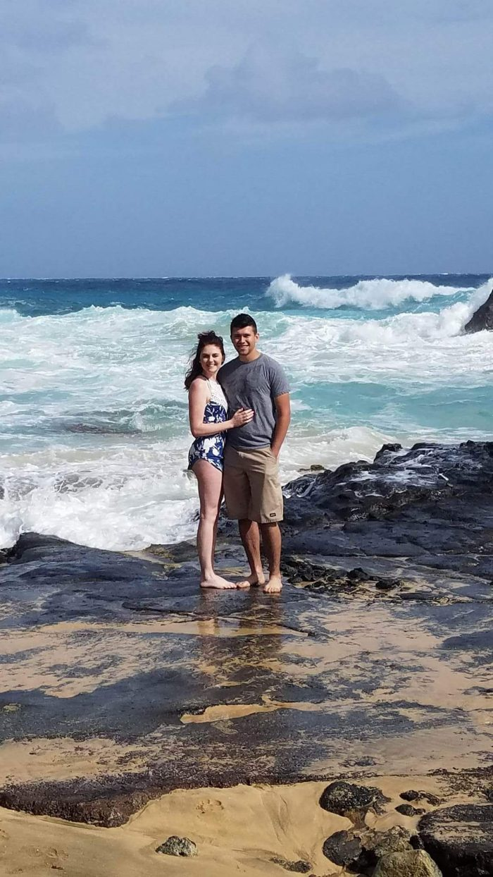 Sara and John's Engagement in Eternity Beach, Hawaii