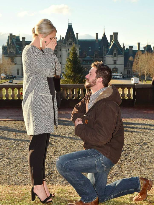 Engagement Proposal Ideas in The Biltmore Estate Asheville, NC