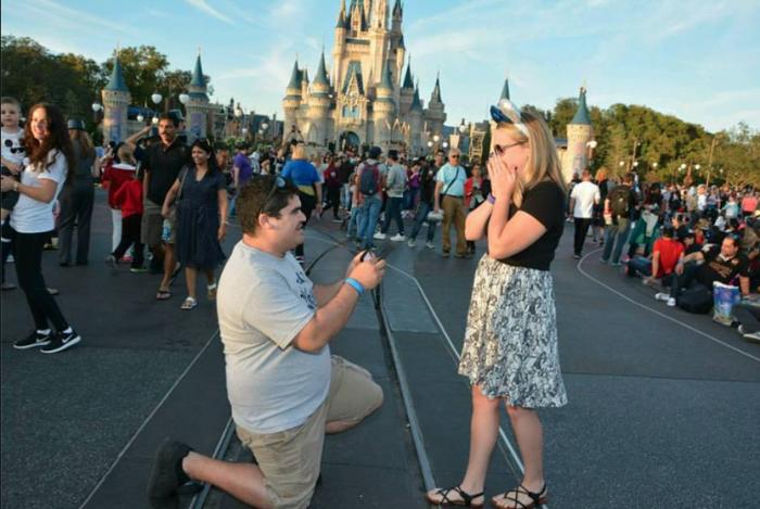 Carissa's Proposal in Walt Disney World