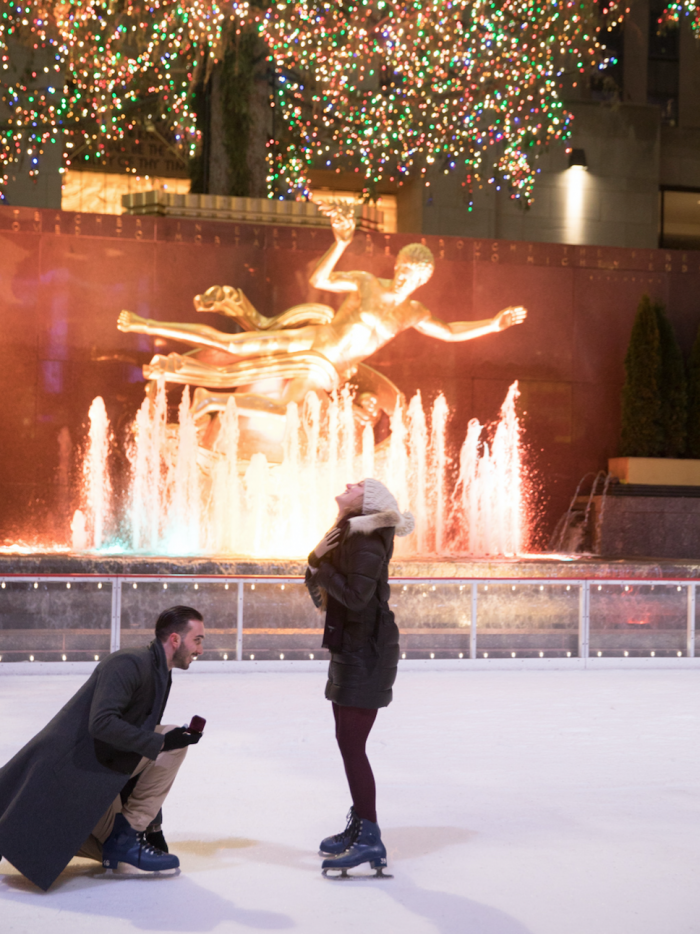 Where to Propose in Rockefeller Center, New York