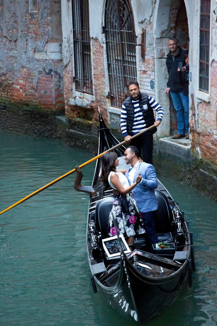 Sonia and Robert's Engagement in Venice, Italy