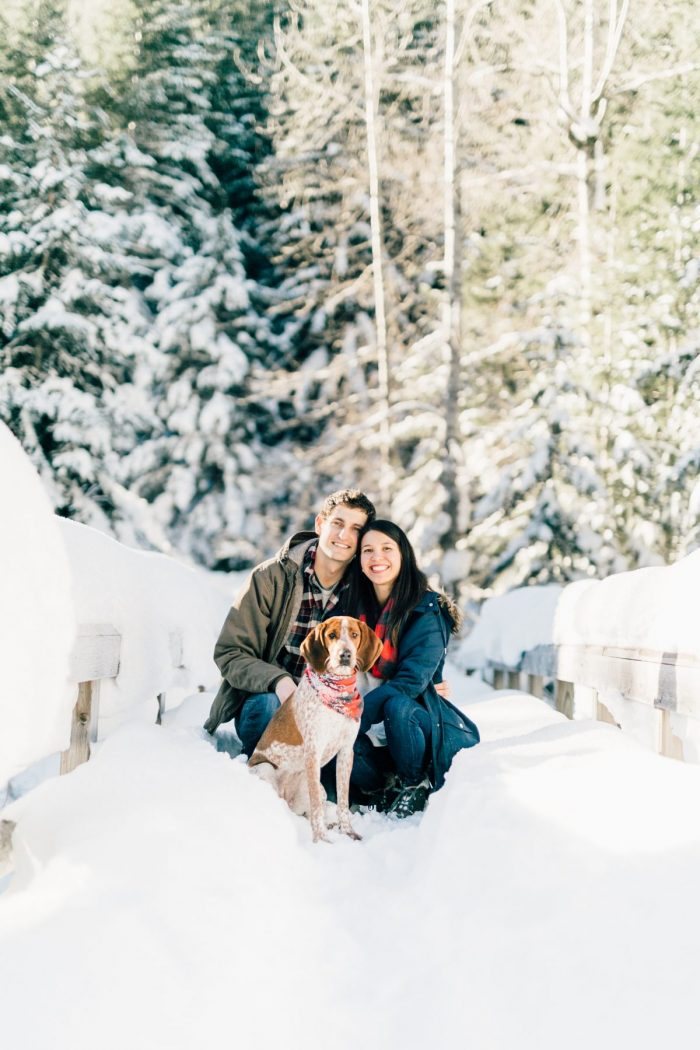 Resa and Grant's Engagement in Crystal Mountain