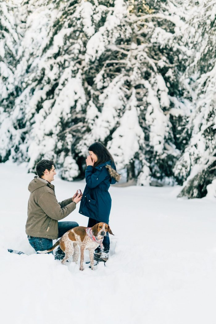 Marriage Proposal Ideas in Crystal Mountain