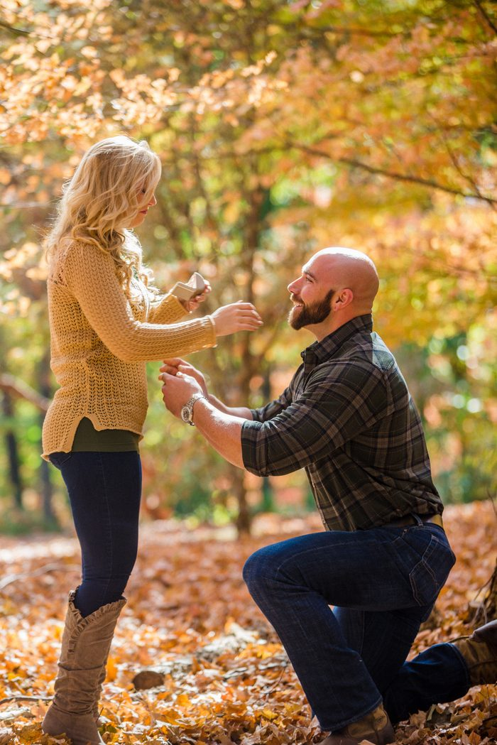 Marriage Proposal Ideas in Knoxville Botanical Garden and Arboretum, Tennessee