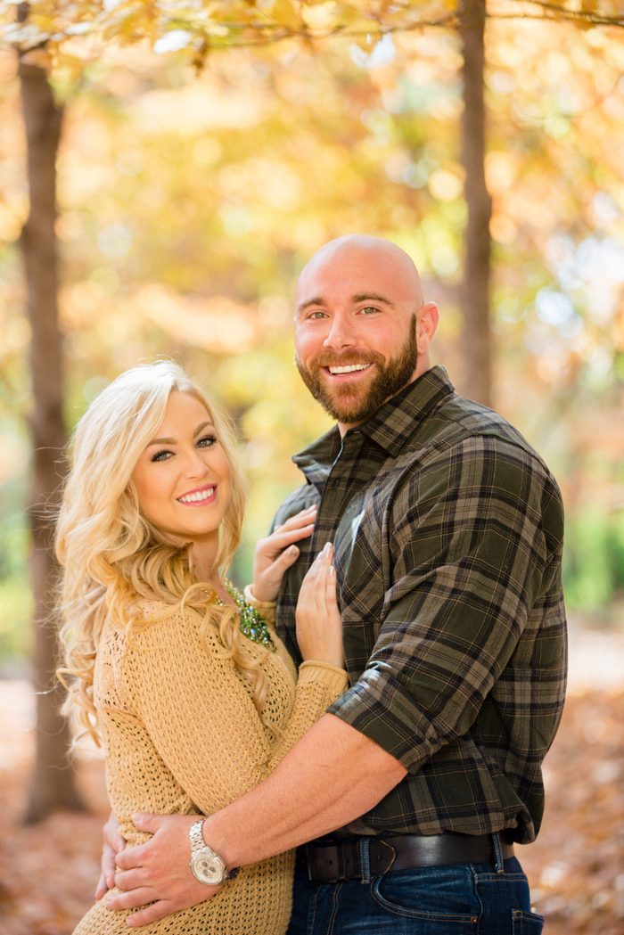 Taylor and Evan's Engagement in Knoxville Botanical Garden and Arboretum, Tennessee