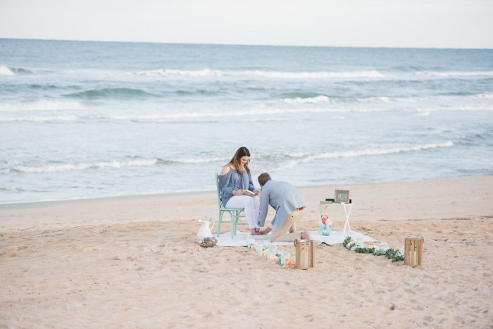 Wedding Proposal Ideas in Palm Coast Florida- Hammock beach resort