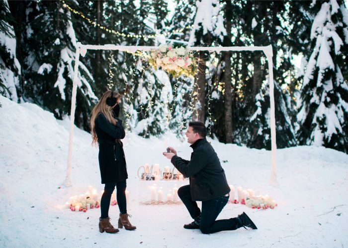 Paola's Proposal in Grouse Mountain, British Columbia, Canada