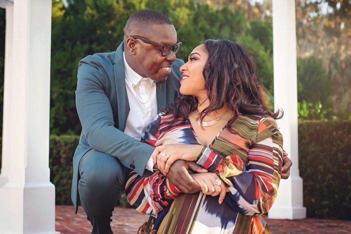 Christie and Jamel's Engagement in Orlando, FL