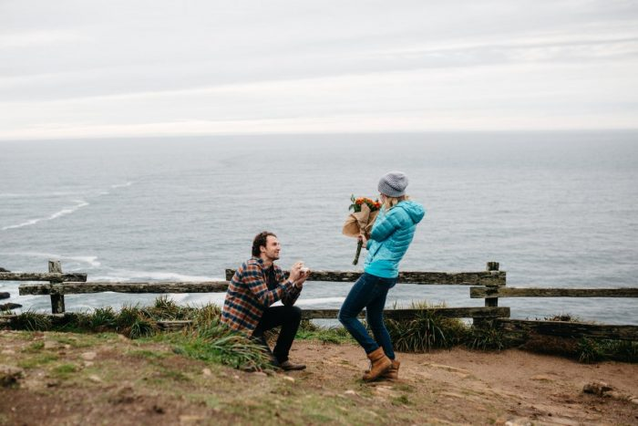 Marriage Proposal Ideas in Point Reyes Seashore, CA