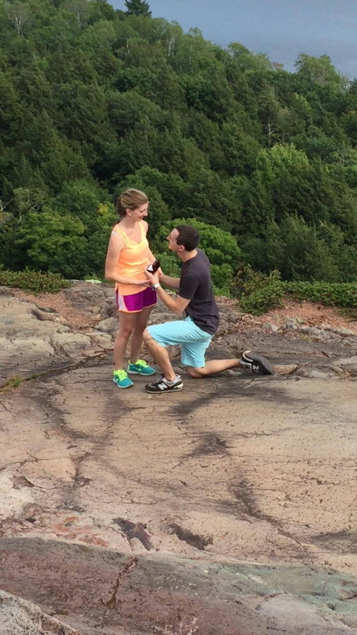 Marriage Proposal Ideas in Porcupine Mountains