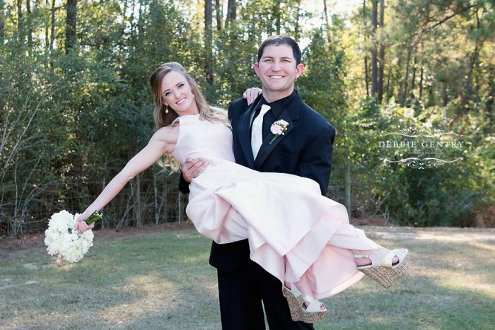 Wedding Proposal Ideas in His Sister's Wedding in Seminary, MS