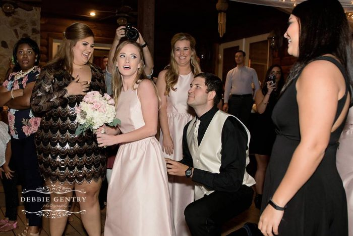 Where to Propose in His Sister's Wedding in Seminary, MS