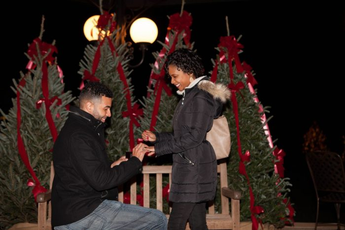 Aftan's Proposal in The Biltmore Asheville, NC
