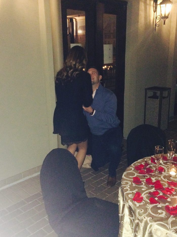 Where to Propose in Chateau Elan