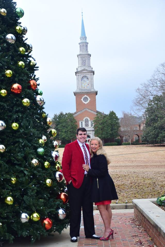 Where to Propose in Samford University, Birmingham, Alabama