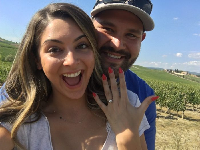 Ashley's Proposal in Tuscany, Italy