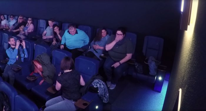 Proposal Ideas At a movie theater