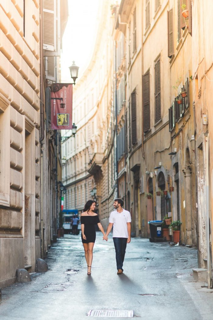 Natasha's Proposal in Rome, Italy