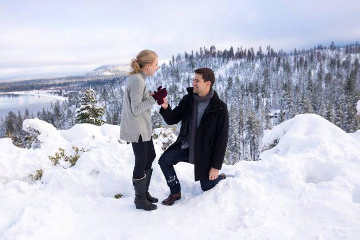 Vika's Proposal in Emerald Bay (Lake Tahoe, CA)