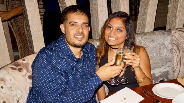 Samara and Clayton's Engagement in Nobu Miami