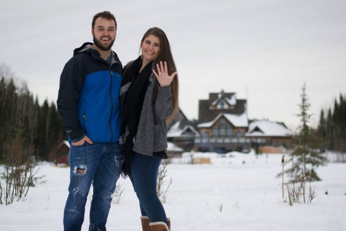 Where to Propose in Elk Ridge Lodge, Saskatchewan, Canada