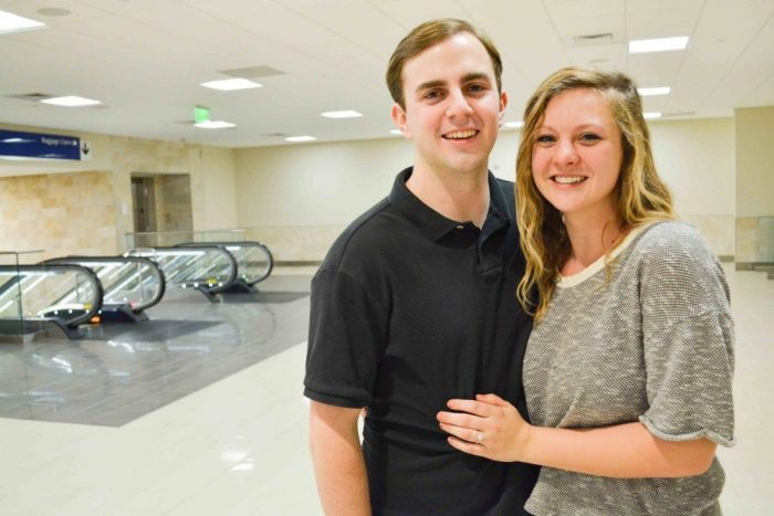 Marriage Proposal Ideas in Greenville Airport, SC