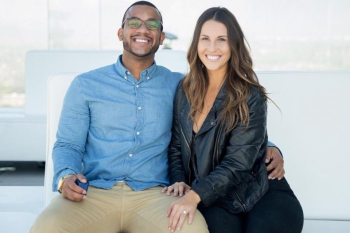 Kelsey and Brandon's Engagement in Los Angeles, CA @ OUE Skyspace LA