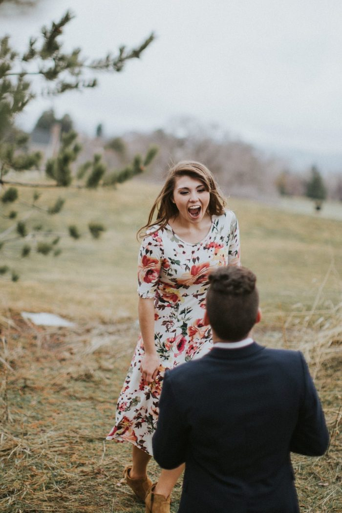 Wedding Proposal Ideas in American Fork canyon, Utah