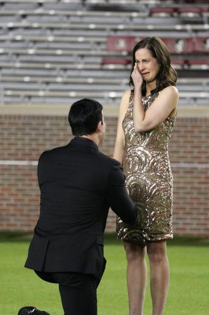 Wedding Proposal Ideas in Doak Campbell Stadium, Tallahassee, FL