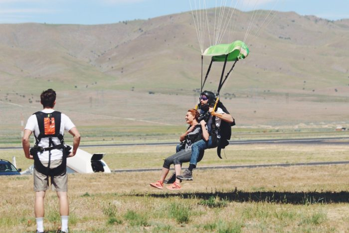 Engagement Proposal Ideas in Skydive the Wasatch - Nephi, Utah