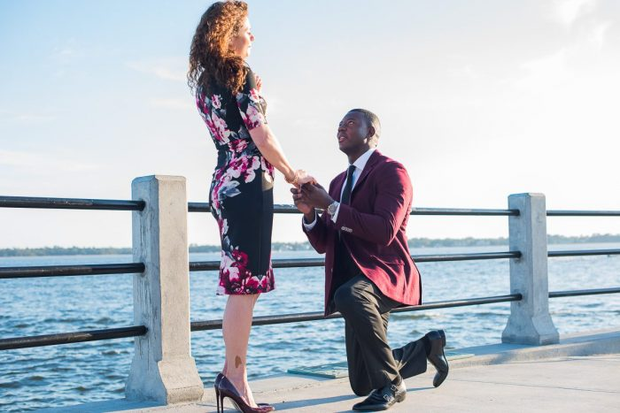 Where to Propose in Charleston, SC (White Point Gardens - The Battery)